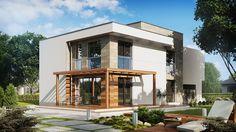 Casa moderna con espectacular diseño, 4 dormitorios y 2 garajes-3