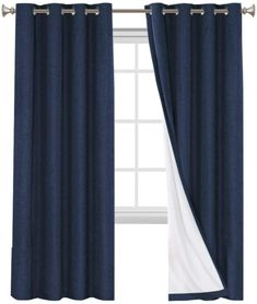 5 Best Blackout Curtains Reviews - CountryCurtains Room Darkening Curtains, Bedroom Curtains, Blackout Curtains, Panel Curtains, Interior Decorating, Interior Design, Satin Material, Roller Blinds, Soft Furnishings