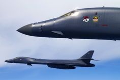 Big booming facts about the Lancer bomber HQ Photos) B1 Bomber, Stealth Bomber, Stealth Aircraft, Bomber Plane, Military Jets, Military Aircraft, Fighter Aircraft, Fighter Jets, Us Navy
