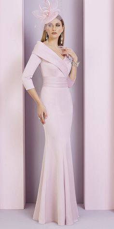 Full length dress with shawl style collar. Mother Of The Bride Dresses Long, Mother Of Bride Outfits, Mothers Dresses, Dress With Shawl, Lace Dress, Winter Dresses, Evening Dresses, Winter Outfits, Groom Dress