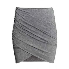 LUCLUC Grey Bodycon Pleated Skirt ($18) ❤ liked on Polyvore featuring skirts, bottoms, lucluc, gray skirt, gray pleated skirt, knee length pleated skirt, knee length bodycon skirt and grey skirt