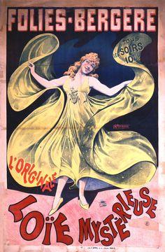 Vintage Programme Theatre Folies Dramatiques 1920s Art Deco