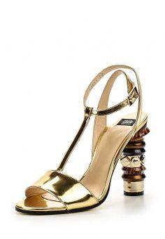 Босоножки Roberto Botticelli, цвет: золотой. Артикул: RO233AWHSS77. Женская обувь / Босоножки