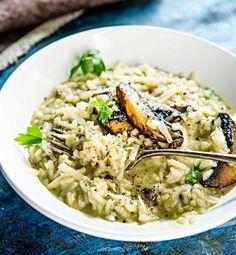 Delicious mushroom risotto/Sienirisotto