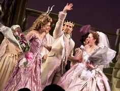 Victoria Clark, Laura Osnes and Santino Fontana Theatre Geek, Music Theater, Broadway Theatre, Broadway Shows, Cinderella Broadway, Rodgers And Hammerstein's Cinderella, Victoria Clark, Laura Osnes, Visual And Performing Arts