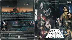 Star Wars Rebels Season 1 & 2 Blu-ray Custom Cover
