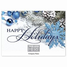 Royal Sparkle Holiday Cards UP13127   Christmas Greeting Cards   Deluxe.com