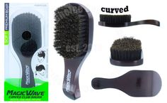 Boar Bristle Hair Brush, Wave Brush, Ice Magic, Club Hairstyles, Beard No Mustache, Wave Pattern, Hair And Beard Styles, Cosplay Costumes, Brushes