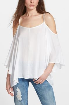 Can't wait to wear this flowy peasant blouse when the weather warms up.