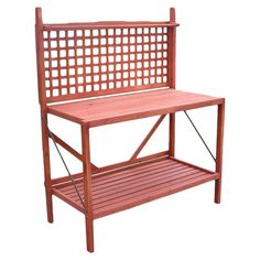 Beverage Station in Screened In Porch?  Potting Bench in Natural II