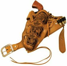 Whether you are an Old West enthusiast or just like the look of that era, the Cheyenne Revlover Holster Kits will make a great choice for your time period pistol. A popular western design from the 1800's, this kit will fit the Colt, Single Action Army, New Frontier and similar sized revolvers by other manufacturers. Holster can be tooled with an Old West design or simply dyed and sewn. All kits come with pre-cut, pre-punched parts, leather lace, instructions and four patterns.