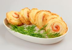 Rotolini pasta sfoglia salmone affumicato