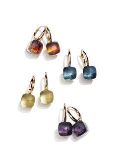 Pomellato 18k Rose Gold Nudo Earrings.  Now available at Diamond Dream Fine Jewelers https://www.facebook.com/pages/Diamond-Dream-Fine-Jewelers/170823023636 https://www.diamonddreamjewelers.com info@diamonddreamjewelers.com 908.766.4700