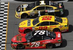 Starting lineup for Advance Auto Parts Clash to be set by blind draw