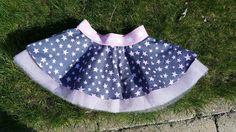 Sunny Sewing: Het stofje dat wachtte op dat ene speciale patroontje... rokje met elastiek en tule circle skirt