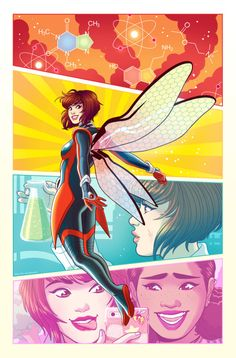 The Unstoppable Wasp - Paulina Ganucheau