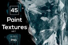 45 Hand Crafted Paint Textures  by Alyona Vorotnikova on @creativemarket