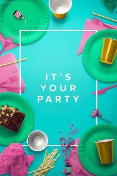 Party Edition - Custom Scene by Román Jusdado on @creativemarket