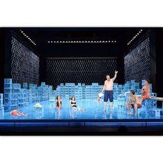 bühnenbild: daniel roskamp // ein volksfeind // staatstheater kassel // 2016 Stage Set Design, Set Design Theatre, Design Research, Scenic Design, Stage Lighting, Work Inspiration, Media Design, Installation Art, Instagram