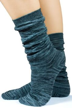 Ringlets Anklet Socks in Charcoal Grey and Black By MeMoi
