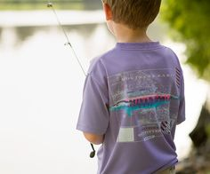 Southern Marsh FieldTec Outfitter Collection - Wahoo - Short Sleeve - Youth