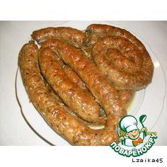 Рецепт: Домашняя колбаса (куриная)