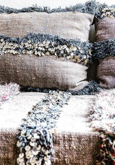 Moroccan Wedding Blanket Pillow Covers | JenniferDecaux on Etsy