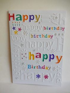 Tess to Jan. Simple Birthday Cards, Homemade Birthday Cards, Homemade Greeting Cards, Birthday Cards For Boys, Bday Cards, Happy Birthday Cards, Scrapbook Cards, Scrapbooking, Hand Stamped Cards