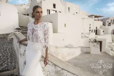 Julie Vino Fall 2016 Santorini Bridal Collection | itakeyou.co.uk #weddingdress