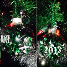 #2013 #ornament I made for #christmas #diy #crafts #holiday #simple #fun