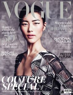 visual optimism; fashion editorials, shows, campaigns & more!: the empress' new clothes: liu wen by marcin tyszka for vogue thailand october...