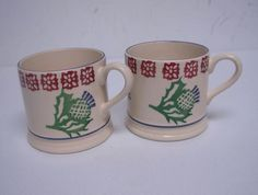Thistle & Border Baby Mug (The Museum of Scotland Exclusive) Discontinued