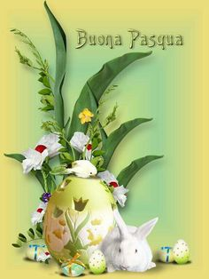 Buona Pasqua Christmas Fun, Christmas Bulbs, Easter Pictures, Vintage Easter, Emoticon, Happy Easter, Holiday Decor, Birthday, Creative