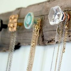 Love this idea to clean up my jewelry box a bit.