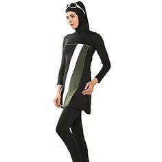 ec5d8dd889 YEESAM Muslim Swimwear for Women Girls Modest Islamic Hijab Swimsuit   Want  additional info  Click