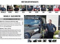 """Curious to know why our sales reps are so knowledgeable? It's because they're part of the Jeep Life. probably runs through their veins. Check out some of the staff and what they drive on our """"About Us"""" page Jeep Parts, Truck Parts, Morris 4x4 Center, Company Values, About Us Page, 4x4 Trucks, Jeep Life, South Florida, Number One"""