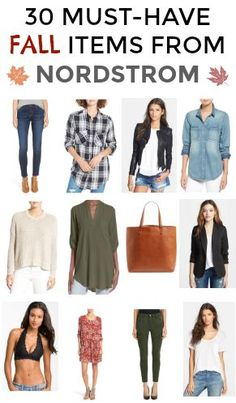 30 must-have fall items from Nordstrom! Add these staples to your wardrobe asap! | Fall Fashion | Fall Style | Tips for Fall Fashion | Fall Fashion Ideas | Cold Weather Fashion and Accessories || Katie Did What