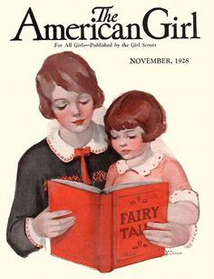 November 1928, American Girl Cover