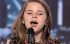 Amazing - 10-year-old Anna Christine - Americas Got Talent 2013 - See Video. What a voice!