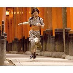 young Sayuri in Memoirs of a Geisha