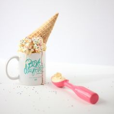   Styled & Photographed by: Bri Ramos, www.thebuzzbrand.com    It's Ice Cream for Breakfast Day!! Could we be any happier?!? What a great way to start the weekend. #dreamsreallydocometrue #IceCreamforBreakfast