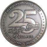 Marijuana Anonymous - 25th Anniversary Commemorative Coin