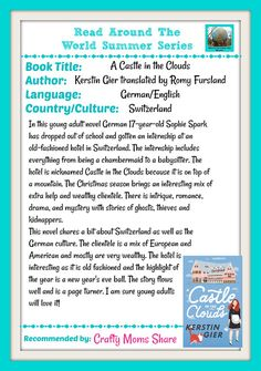 Read Around the World Summer Series -- A Castle in the Clouds