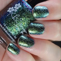 Brand: KBShimmer // Collection:  Summer 2015 // Color: She's Beyond Kelp! // Blog: The Mercurial Magpie