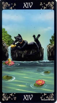 Temperance - Black Cats Tarot - rozamira tarot - Picasa Web Albums