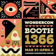 To whoever is planning on going to the show this weekend, see you guys in a few days! ✌️ #wondercon2017