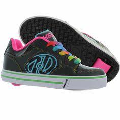 Heely's Motion Plus Roller Shoe (Black/Hot Pink)