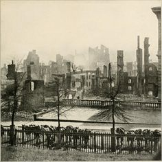 (1865) Ruins of Richmond, VA