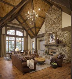 Nice great room.