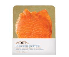 Saumon de Norvège, tranché à la main, 4 tranches